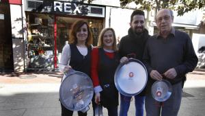 Els actuals responsables de la casa Rex
