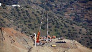 Els miners d'Astúries es preparen per construir la galeria horitzontal
