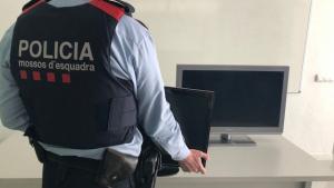Els Mossos d'Esquadra van recuperar els 10 televisors sostrets que van robar els lladres