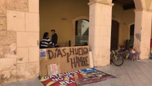 Els ocupes d'Altafulla van posar el punt final a la seva protesta aquest dilluns al vespre.