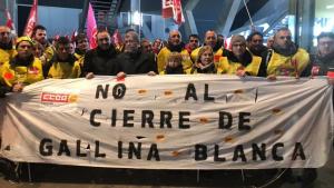 Els treballadors de Gallina Blanca han anunciat vaga indefinida