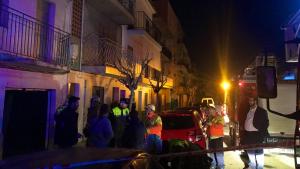 Els veïns dels edificis adjacents han estat desallotjats preventivament