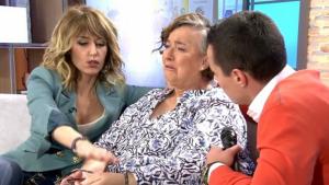 Emma García tuvo que consolar a Reme que se rompía al recordar lo ocurrido