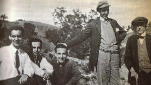 En el centro Lorca, uno de los autores más representativos de la Generación del 27.