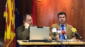 Gallardo, a la dreta, ha exposat les dades del darrer Observatori