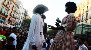 Gegants Negritos de Tarragona Santa Tecla