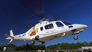 Imagen de archivo de un helicóptero del EPES.
