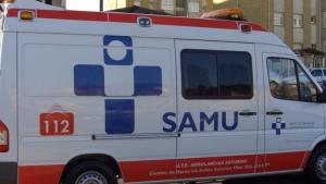 Imagen de archivo de una ambulancia de Asturias del SAMU