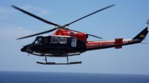 Imagen de archivo del helicóptero de rescate.