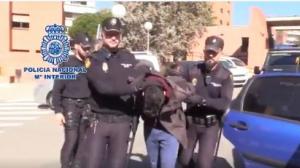 Detención Antonio Sánchez