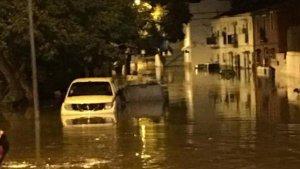 Trapiche inundado