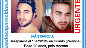 Imagen del desaparecido en Guardo, Palencia