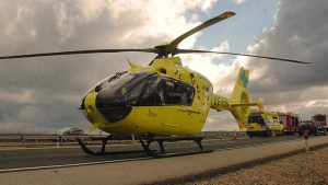 Helicóptero de Asturias medicalizado