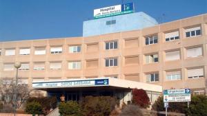 Imagen del hospital donde ha sido trasladado el herido.