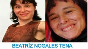 Imagen de la desaparecida Beatriz Nogales Tena