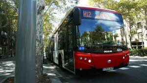 Imatge d'arxiu bus TMB