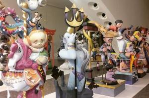 Imatge d'arxiu de l'Exposició del Ninot de València