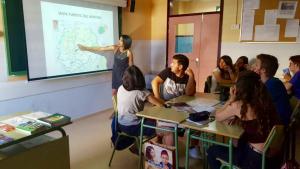 Imatge d'arxiu d'una classe de l'institut Ciutat de Balaguer