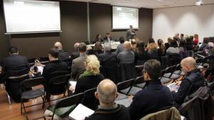 Imatge d'arxiu d'una sessió de l'Idees x Business