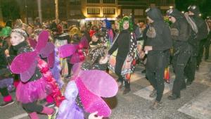 Imatge de la rua de Carnaval d'Alcover.