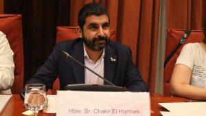 Imatge del conseller de Treball, Afers Socials i Famílies, Chakir el Homrani