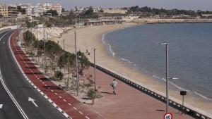 Imatge del nou passeig marítim del Miracle de Tarragona