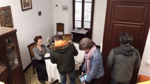 Imatge del rodatge que s'ha fet a Alcover.