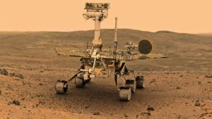 Imatge del rover Opportunity