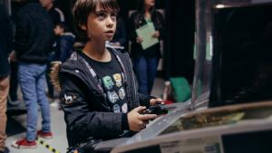 Imatges de la Fira de Videojocs  Mr.Game  a la Fira de Reus