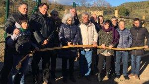 Inauguració de les millores d'abastament d'aigua de Senan