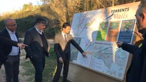 Inversió milionària a Valls per millorar i integrar els tres torrents a la ciutat
