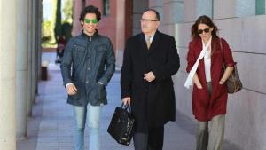 Ivonne Reyes también estuvo acompañada por su abogado