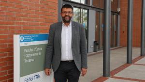 Jaume Pujol, nou director del Departament d'Òptica i Optometria de la UPC