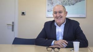 Joan Aregio, director adjunt de la Xarxa Social i Sanitària de Santa Tecla, durant l'entrevista amb TarragonaDigital