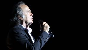 Joan Manuel Serrat, en un concert al Castell de Perelada
