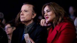 José Ortega Cano y su mujer en el evento de moda