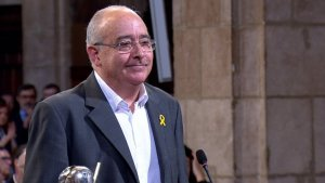 Josep Bargalló ja ha pres possessió del càrrec de conseller d'Ensenyament.