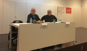 Josep Lluís Carod-Rovira, en una xerrada sobre la història del protestantisme