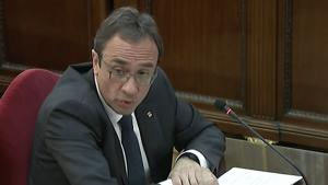 Josep Rull declarant al Tribunal Suprem