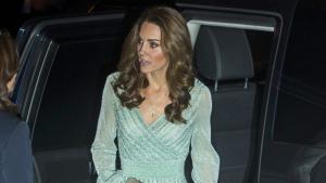 Kate Middleton lució un vestido de Missoni en Irlanda del Norte