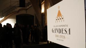 La Cooperativa de Gandesa celebra cent anys d'èxits a recer d'una de les Catedrals del Vi del país