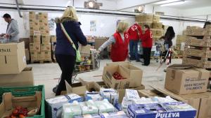 La Creu Roja repartirà més de 300 tones d'aliments a la regió de Tarragona