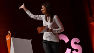 La diputada per Tarragona i senadora per designació autonòmica, Lorena Roldán, ha intervingut a l'acte.