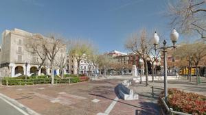 La plaça dels Carros de Tarragona.