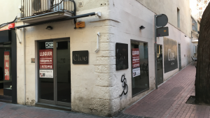 La tenda Cloe va tancar la seva activitat al carrer de Sant Pere