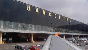 L'aeroport del Prat de Barcelona.