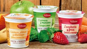 Las tres nuevas variedades de yogures Milbona de Lidl, yogures de verduras