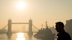 Londres viu un final de febrer massa primaveral