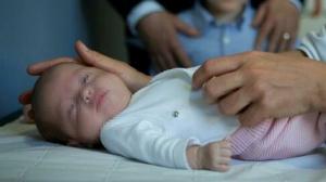 María, la bebé más pequeña del mundo en ser operada del corazón