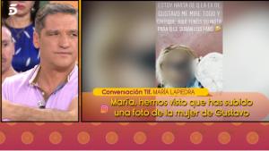 María Lapiedra hace pública una foto de la ex mujer de Gustavo